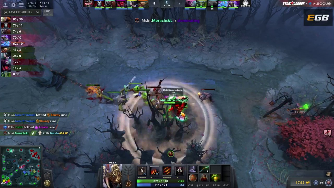 execration vs mineski game 1 starladder dota 2 live youtube