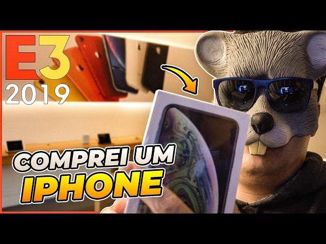 COMPREI UM IPHONE XS MAX EM LOS ANGELES