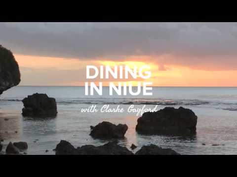 Dining in Niue with Clarke Gayford
