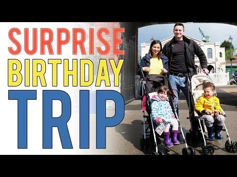 AD Birtay SURPRISE Trip to Thomas Land  Day in the life FAMILY VLOG  Ysis Lorenna