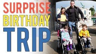 AD Birthday SURPR SE Trip to Thomas Land  Day in the life FAM LY VLOG  Ysis Lorenna