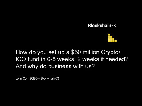 How do you create your own $50 million Crypto/ ICO fund in 2 weeks?