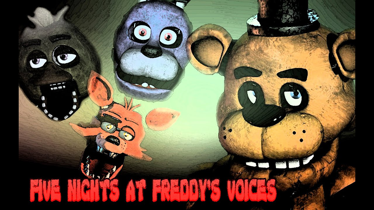 Fnaf voices youtube
