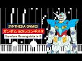 [Gundam Reconguista in G] GARNiDELiA - BLAZING [Piano]