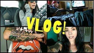 VLOG: August 5th-15th | Tattoo Progress, Breakdown, Lashes & The MEG!