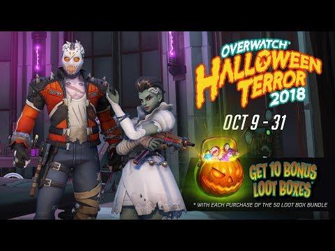 Overwatch Seasonal Event | Overwatch Halloween Terror 2018
