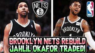 JAHLIL OKAFOR BROOKLYN NETS REBUILD! NBA 2K18 MY LEAGUE