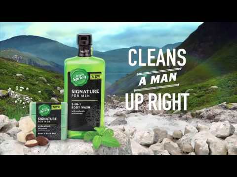 Problematic Masculinity of Irish Spring Ads