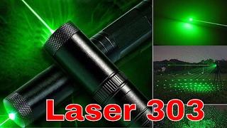 Laser 303 Francais Review en Vert Rouge et Bleu Super Puissant distance de 10 KM Par ThinkUnBoxing