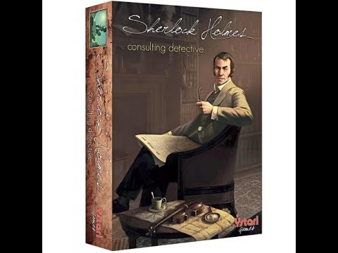 SHERLOCK HOMES, CONSULTING DETECTIVE GAME REVIEW