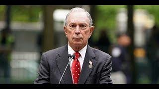 WATCH: Bloomberg Defends War Crimes, Bombing Hospitals & Civilians