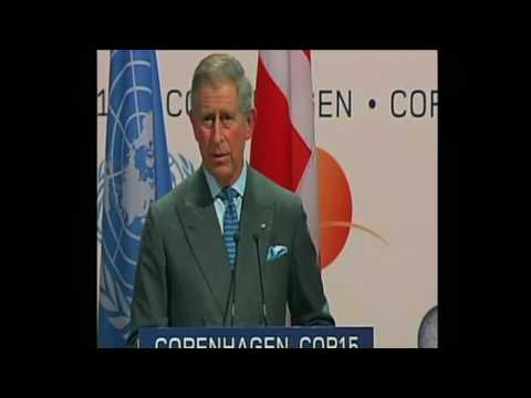 The Prince of Wales speaks at the Copenhagen Climate Change Conference