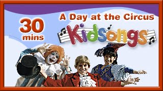A Day at the Circus | Happy and You Know It | Put on a Happy Face | PBS Kids | Kidsongs | for kids thumbnail