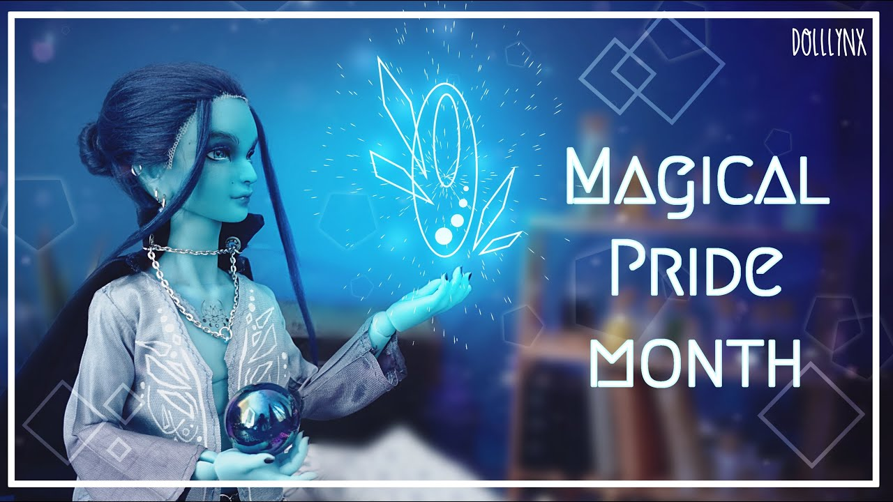PRIDE COLLAB   Blue   Damien the magician