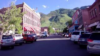 ASPEN COLORADO TOUR THE TOWN FROM MY BIKE