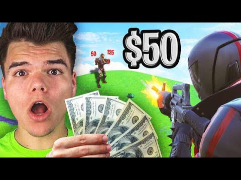 GF vs. BF $50 PER KILL CHALLENGE! (Fortnite Battle Royale)