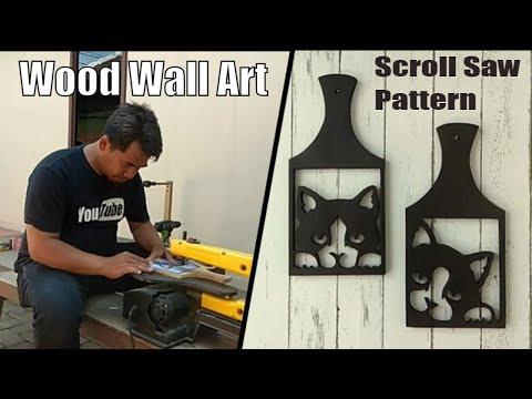 Wood Wall Art Ideas | Wall Decor Ideas | Scroll Saw Pattern