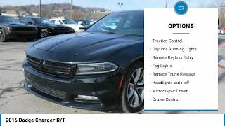 For more information on Used  2016  Dodge  Charger  R/T  for sale in the Nashville, TN area visit u