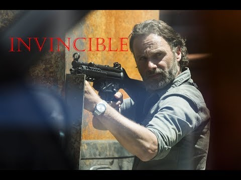 The Walking Dead-Rick Grimes Tribute-INVINCIBLE-ALL GOOD THINGS