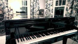 "David Rakowski: ""Wiggle Room,"" piano etude #43, performed by a Disklavier"
