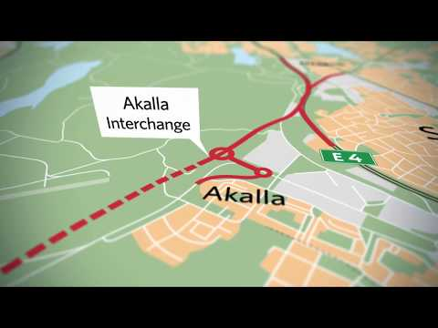 Progress report for E4 The Stockholm bypass Project, May 201