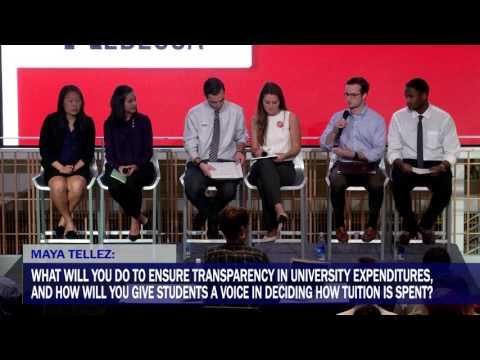 Full USG Town Hall Presidential Debate