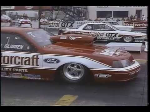 Drag Racing 1988 NHRA Keystone Nationals PRO STOCK Round 2 Part 2