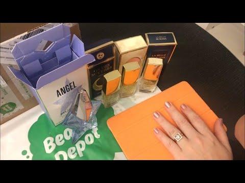 Распаковка посылки 📦 Beauty Depot 'Новый Ангел в туалетной воде + Новая Заря