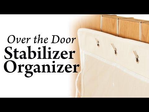Over the Door Stabilizer Organizer