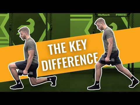 Lunge Vs Split Squat — The REAL Difference