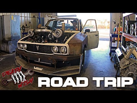 1500 Mile Road Trip in a Twin Turbo LS Hilux - Deathwish EP3