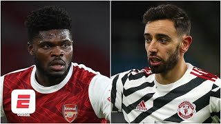 Thomas Partey vs. Bruno Fernandes the marquee matchup in Arsenal vs. Man United | ESPN FC