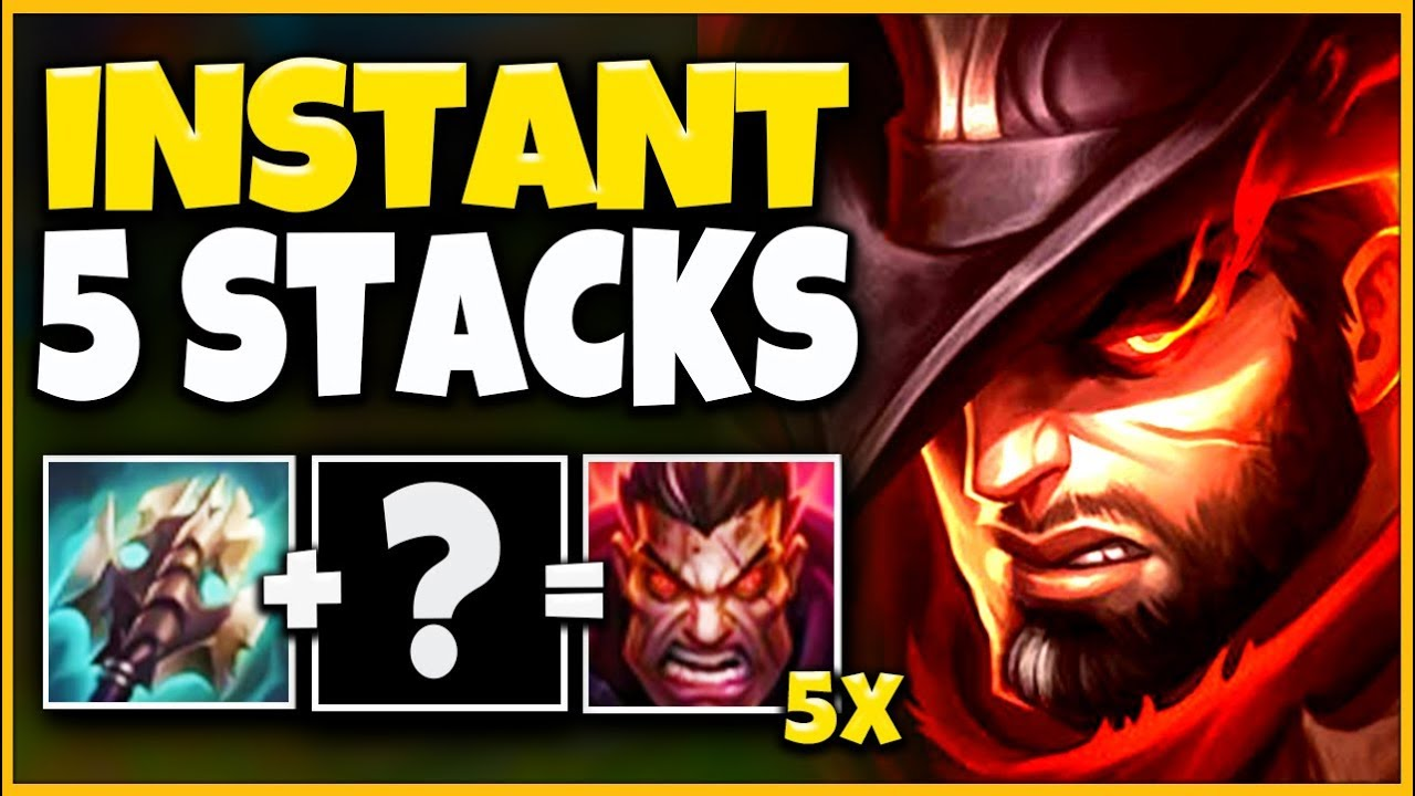 *NEW BUILD* INSTANT 5 STACK DARIUS BLEED (INSANELY OP) - League of Legends thumbnail