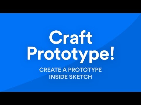 Prototype in Sketch using Craft from Invision