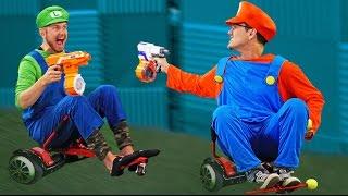 Nerf Mario Kart Challenge!