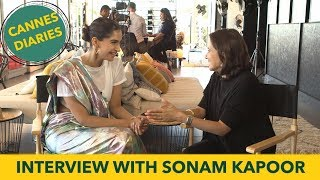 Sonam Kapoor Interview with Anupama Chopra | Cannes Film Festival 2017