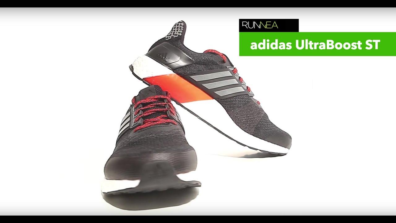 termómetro Marquesina comienzo  Adidas UltraBoost ST Stability, la mejor zapatilla de pronación de la marca  alemana - YouTube