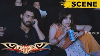 Samantha Takes Surya Help To Stop Her Marriage - Love At First Sight - Sikandar Movie Scenes