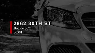 Car Detailing 2862 30th St Boulder, CO 80301 - Hi-Tech Paintle…