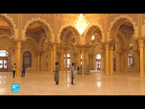 مسجد طرق الجنة في السنغال..أكبر مسجد في غرب إفريقيا