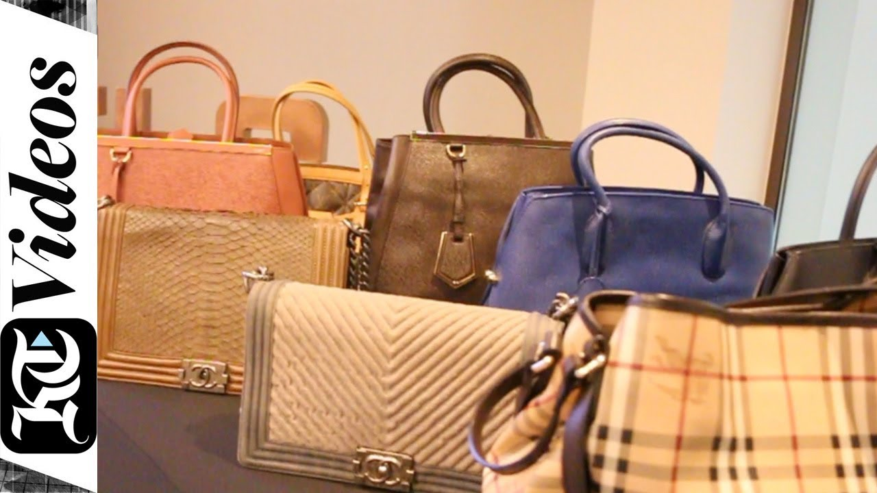 69f2c4dd0468 How to spot a fake handbag in Dubai - YouTube