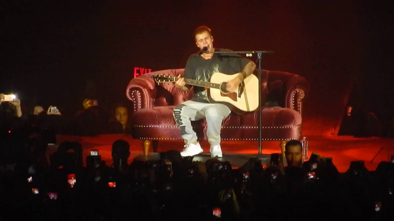 Justin Bieber I Could Sing Of Your Love Forever Purpose Tour