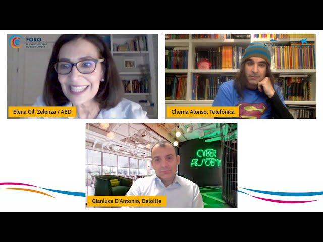 FOROE I Los desafíos de la ciberseguridad en tiempos de pandemia - Chema Alonso y Gianluca D'Antonio