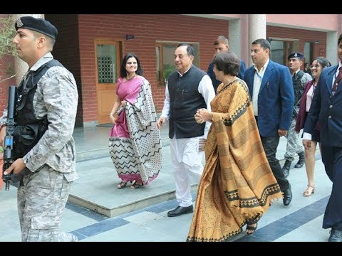 Dr Subramanian Swamy Brilliant Speech At Leadership Summit,LEAD ON At Tagore International School