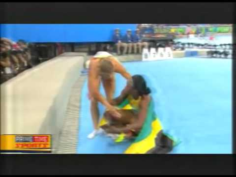 Elaine Completes The Rio Sprint Double To Give Jamaica Its Fourth Gold Medal   August 17