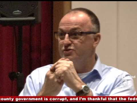 County Legislator Robert Trotta (R) discusses Political Corruption on Long Island Backstory