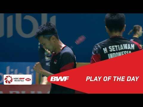Play of the Day | BLIBLI Indonesia Open 2019 Quarterfinals | BWF 2019