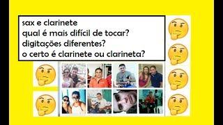 Baixar Curiosidades sobre CLARINETE e SAX - Clarinete ou Clarineta? - Anselmo Oliveira