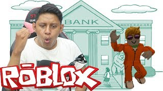 ROB BANK with YOUR FRIENDS! Roblox-Jailbreak #1