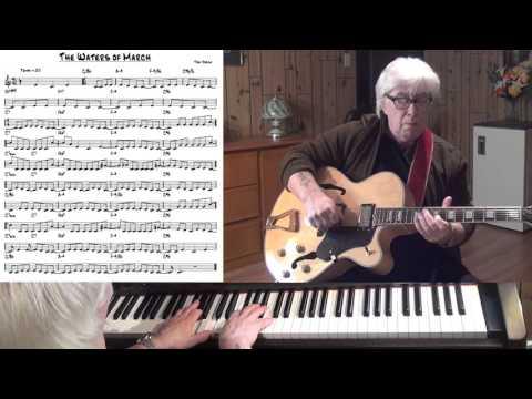 The Waters of March  Jazz guitar & piano   Antonio Carlos Jobim